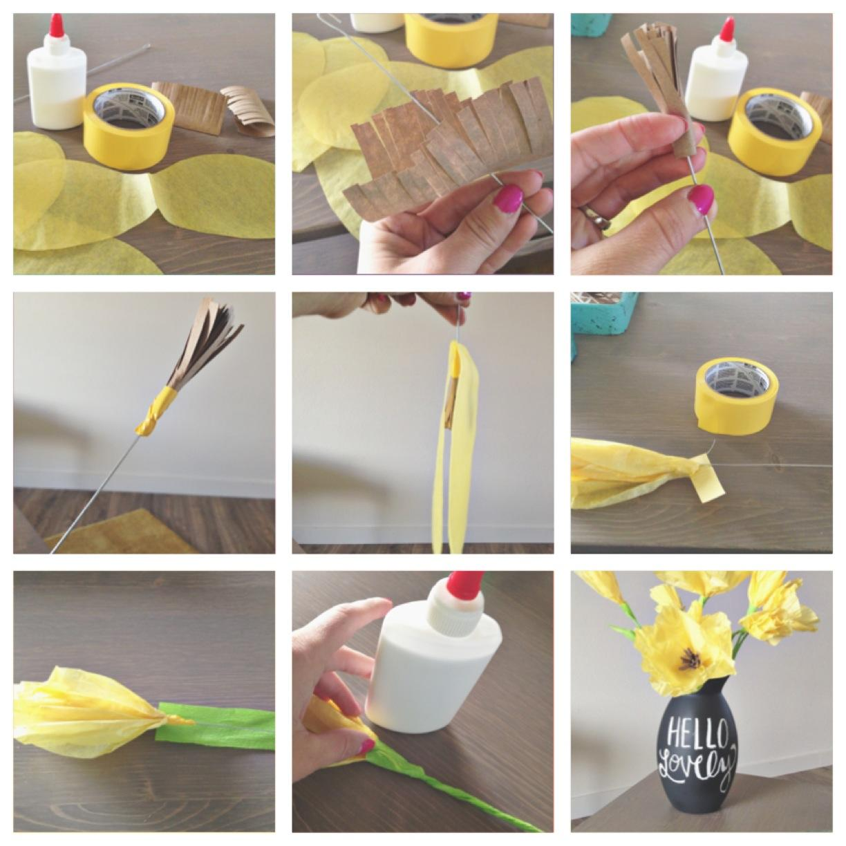 How to make flower with paper easy comousar how to make flower with paper easy mightylinksfo